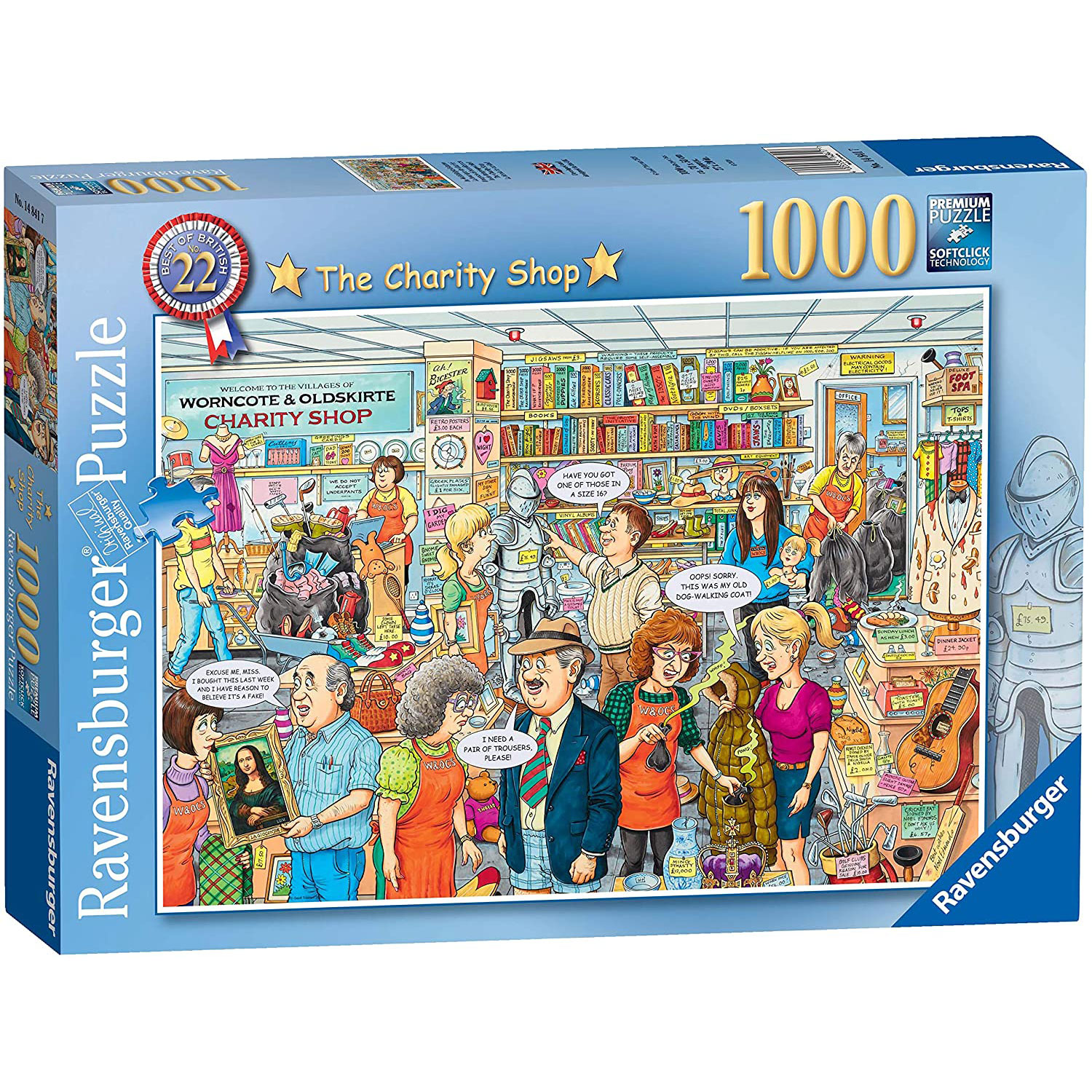 Ravensburger: Best of British No.22 - The Charity Shop 1000 Piece Puzzle