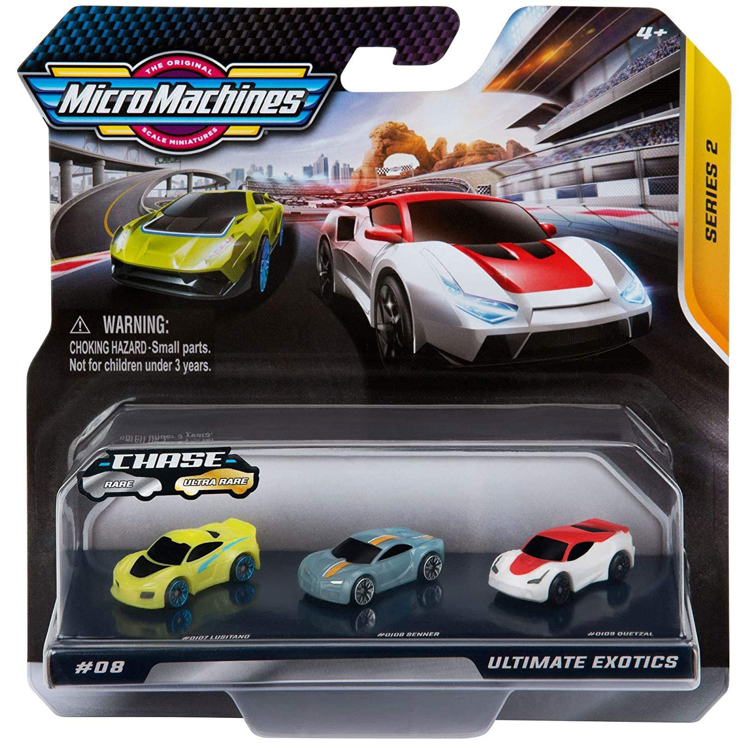 Micro Machines Starter Pack Series 2 - Ultimate Exotics