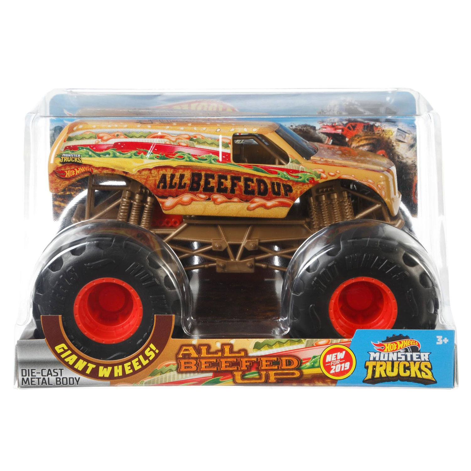Hot Wheels Monster Trucks 1:24 Collection - All Beefed Up