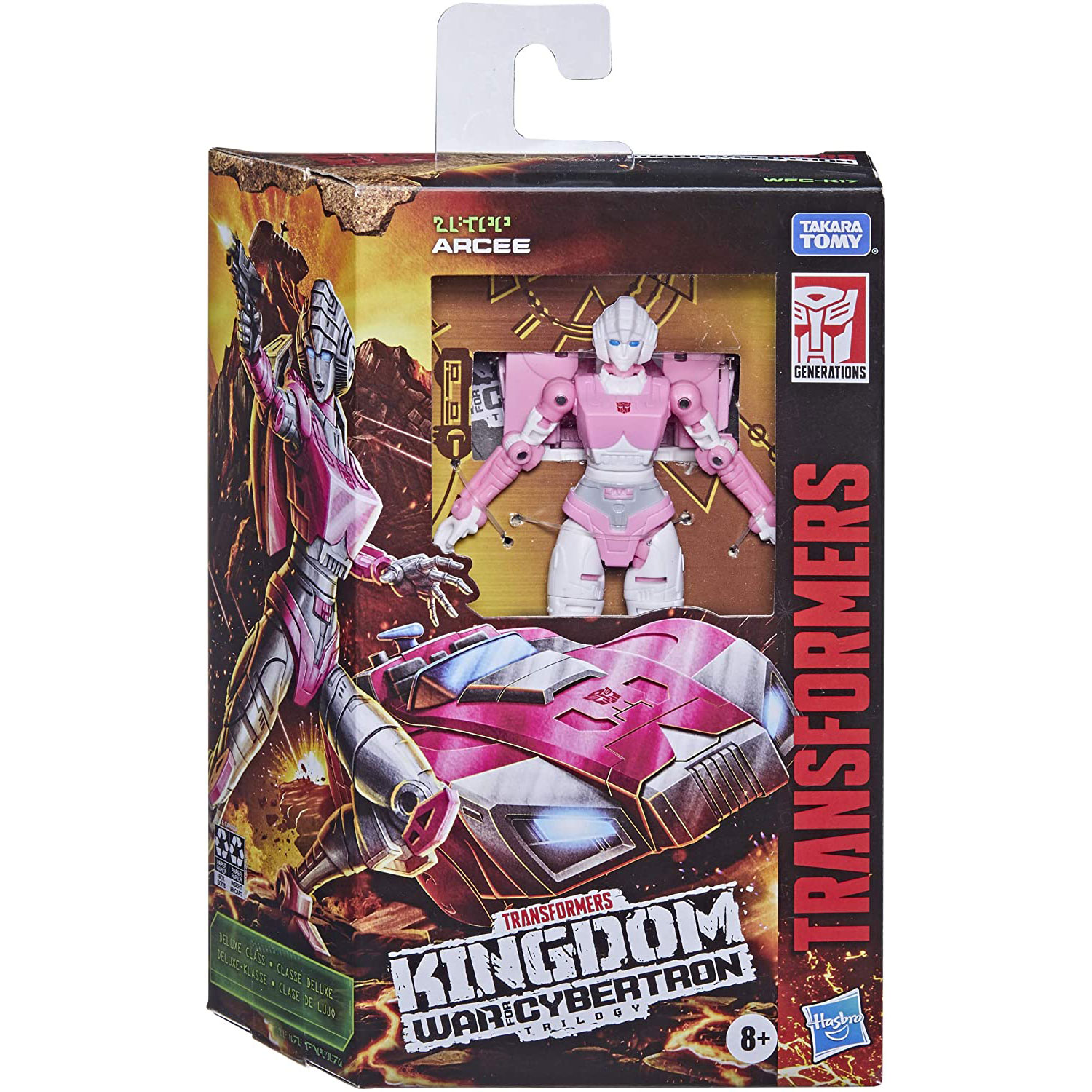 Transformers Generations WFC: Kingdom Deluxe WFC-K17 Arcee Action Figure