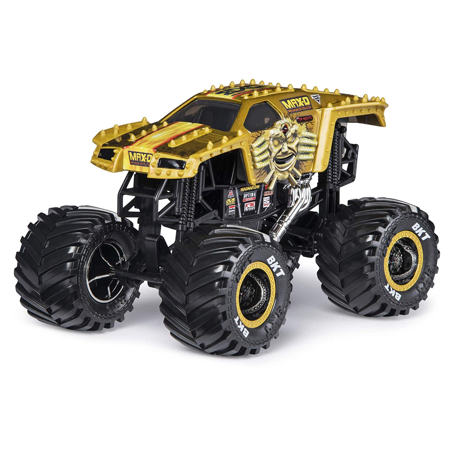 Monster Jam Die-Cast 1:24 Truck - Max-D (Gold)