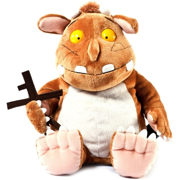 "The Gruffalo - Gruffalo's Child with Stickman 16"" Plush"
