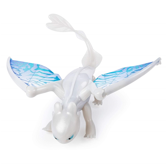 DreamWorks Dragons The Hidden World Deluxe Dragon Lightfury with Lights & Sound
