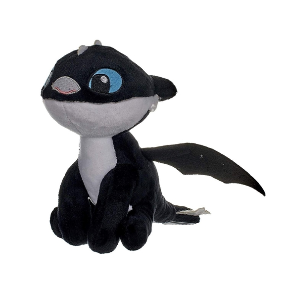 How To Train Your Dragon The Hidden World 18cm Plush Night Light Black (Blue Eyes)
