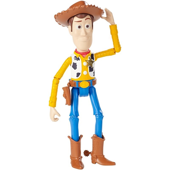 Disney Pixar Toy Story 4 Poseable Figure - Woody