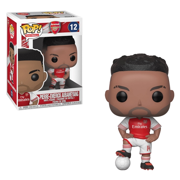 Arsenal FC Pop! Football Vinyl Figure - Pierre-Emerick Aubameyang