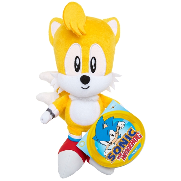 Sonic The Hedgehog 7-Inch Basic Plush Classic Tails