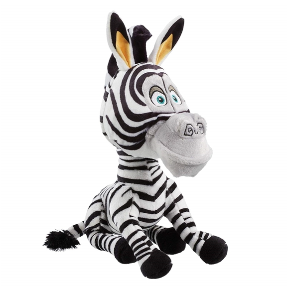 DreamWorks Madagascar - 25cm Plush Marty Soft Toy