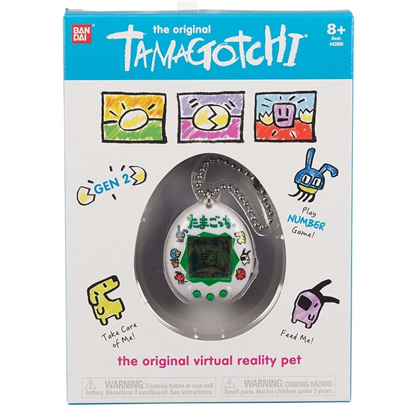 The Original Tamagotchi Electronic Pet - Colourful Characters