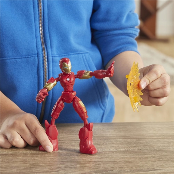 Marvel Avengers Bend and Flex 6-Inch Flexible Iron Man Action Figure