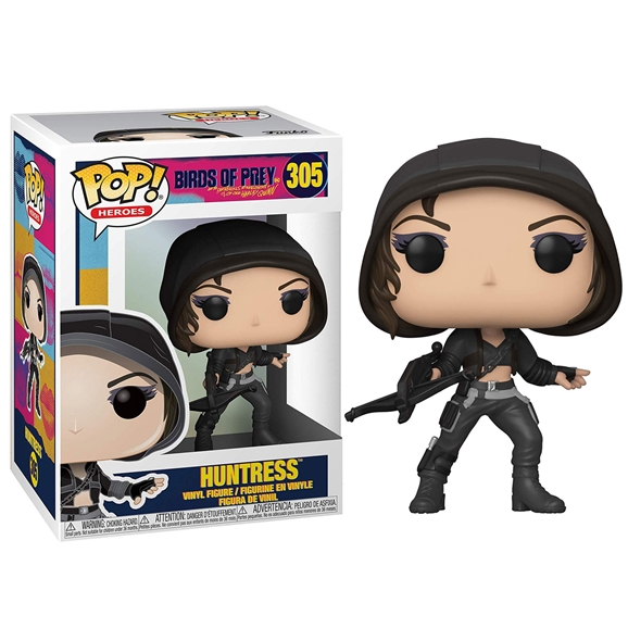 Birds Of Prey Pop! Heroes Vinyl Figure - Huntress