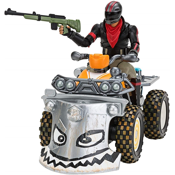 Fortnite Feature Vehicle Quadcrasher with Burnout Figure