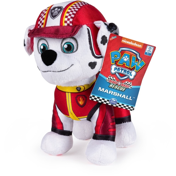 PAW Patrol Ready Race Rescue 8-Inch Plush Marshall