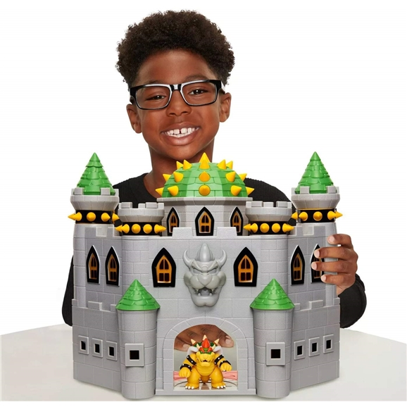 Super Mario Deluxe Bowser's Castle Playset