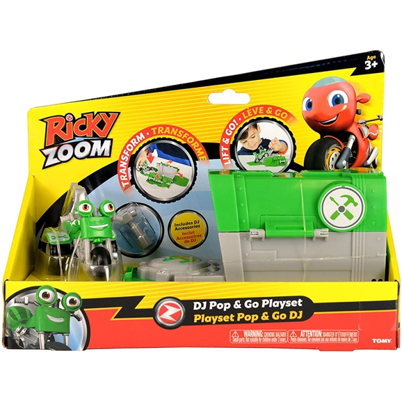 Ricky Zoom - DJ Rumbler Pop and Go Playset