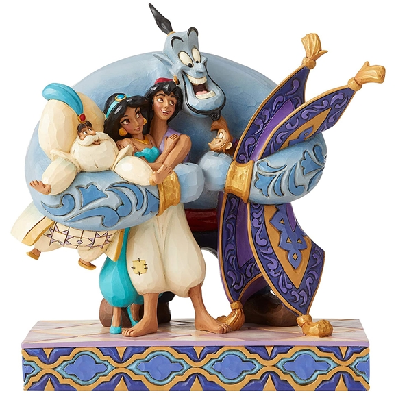 Disney Traditions Figurine - Group Hug! (Aladdin)