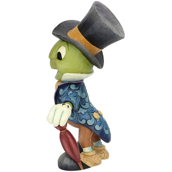 Disney Traditions Statement Figurine - Cricket's the Name, Jiminy Cricket