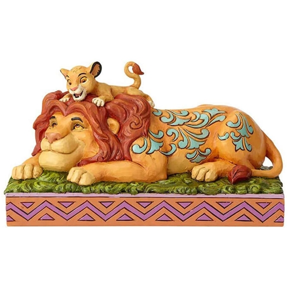 Disney Traditions Figurine - A Father's Pride (Simba & Mufasa)