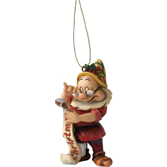 Disney Traditions Figurine Hanging Christmas Ornament - Doc