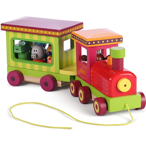 Hey Duggee Wooden Sound and Light Train