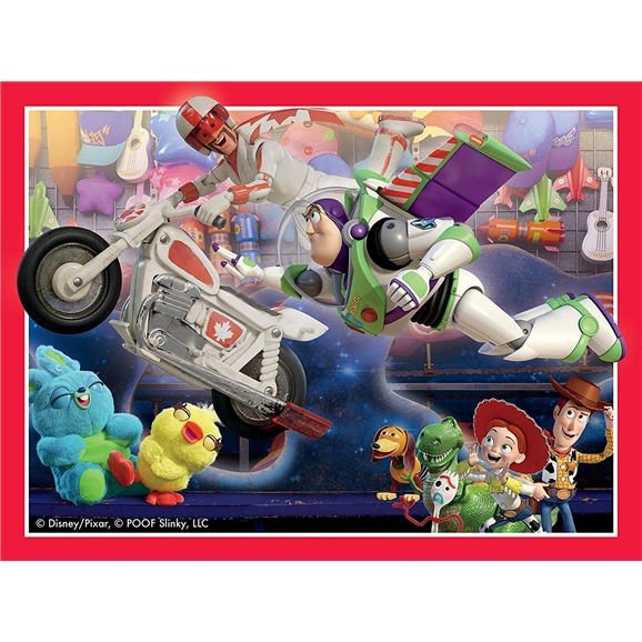 Ravensburger Puzzle: Toy Story 4, 4 in a Box