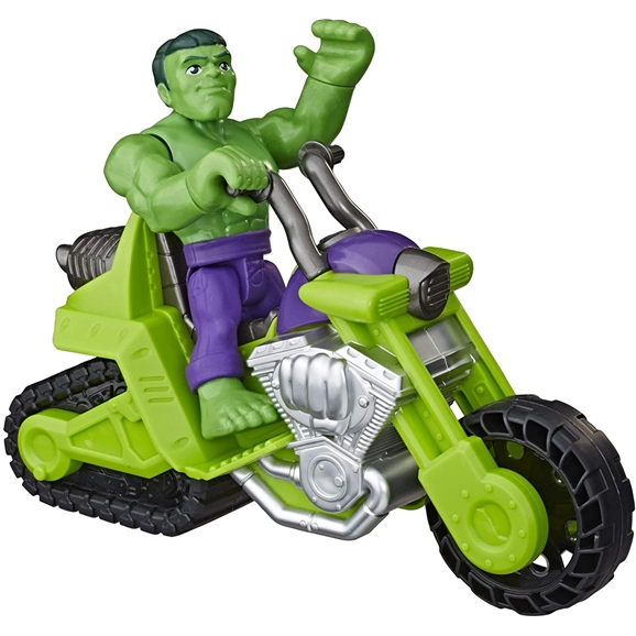 Playskool Heroes Marvel Super Hero Adventures Hulk Smash Tank