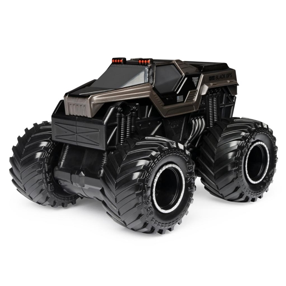 Monster Jam Official 1:43 Scale Rev 'N Roar Monster Truck - Soldier Fortune (Black Ops)