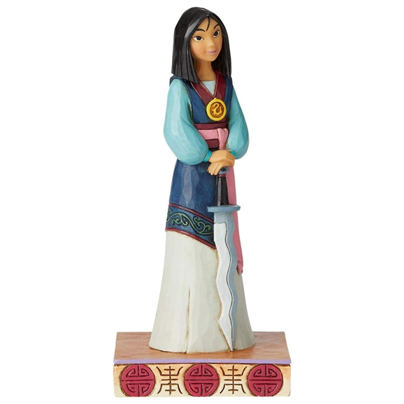 Disney Traditions Figurine - Winsome Warrior (Mulan Princess Passion)