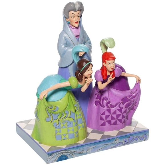 Disney Traditions Figurine - The Terrible Tremaines (Lady, Anastasia & Drizella)