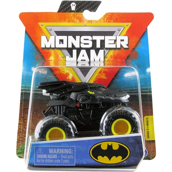 Monster Jam Official 1:64 Scale Die-Cast Truck - Batman (Heroes & Villains)