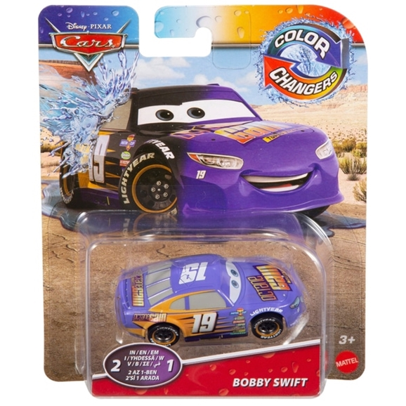 Disney Pixar Cars 1:55 Scale Colour Changer Bobby Swift