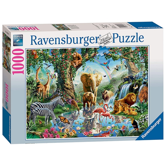 Ravensburger: Adventures in the Jungle 1000 Piece Puzzle