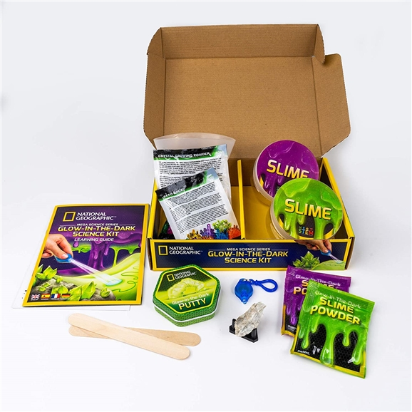 National Geographic Mega Science Series - Glow In The Dark Science Kit