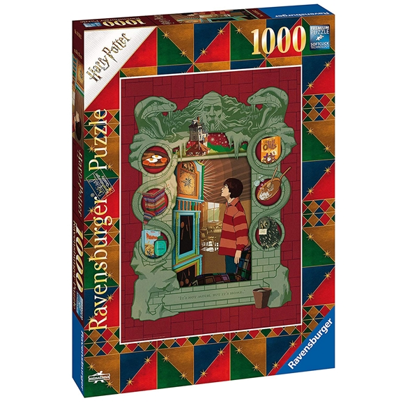 Ravensburger: Harry Potter At Home With The Weasley Family 1000 Piece Puzzle