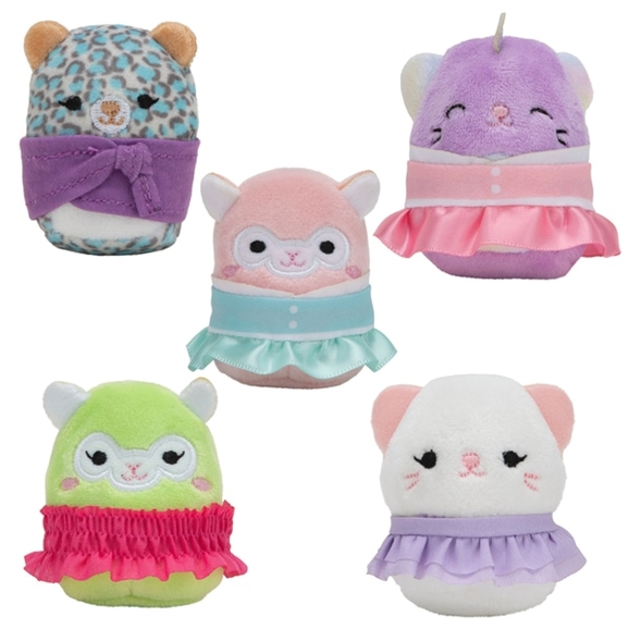 Squishville Mystery Mini Blind Bag 5cm Squishmallow with Fashion Accessory