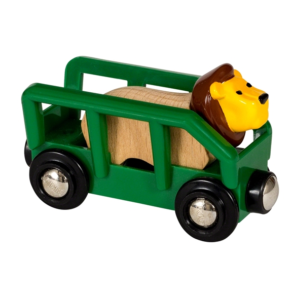 BRIO World - Lion and Wagon (33966)